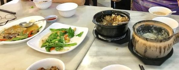 4 dishes for 3pax lunch