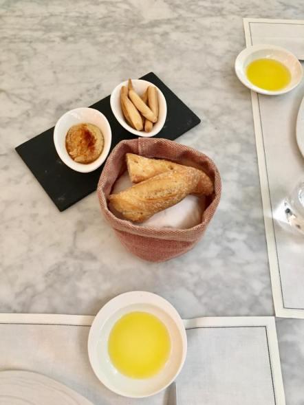 baguette & olive oil