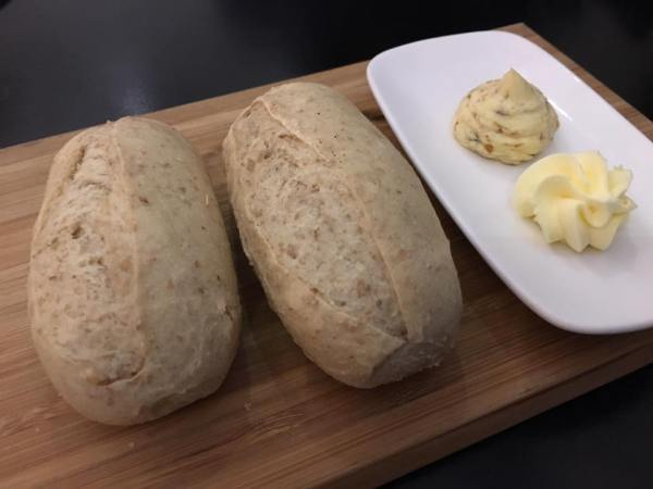 warm bread so so butter