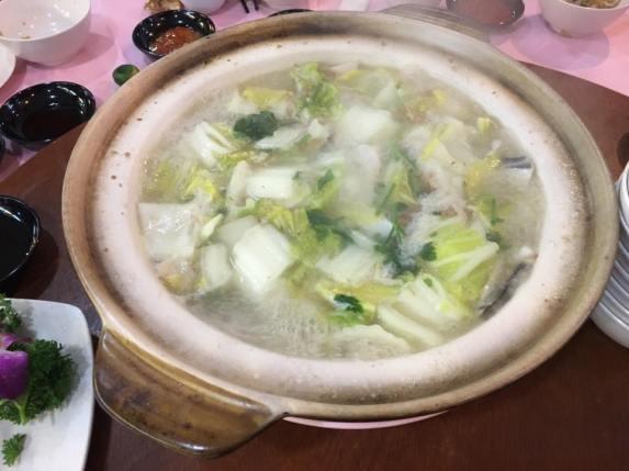 claypot pomfret soup - S$73