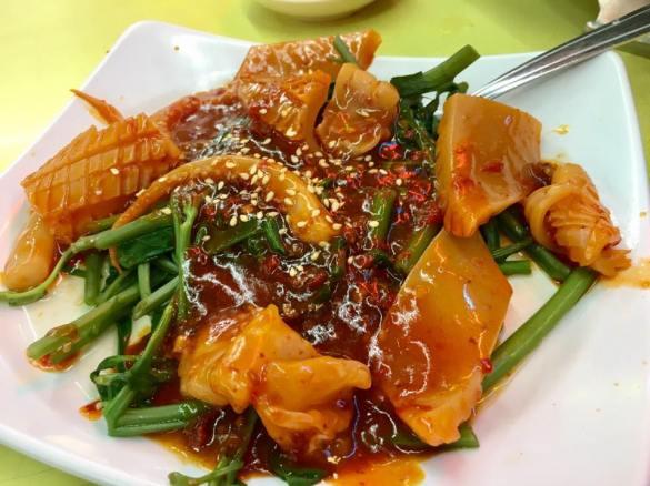 cuttlefish kang kong S$10