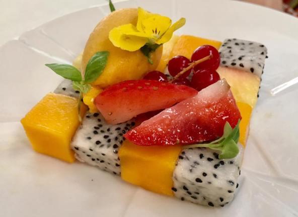 fruit sorbet