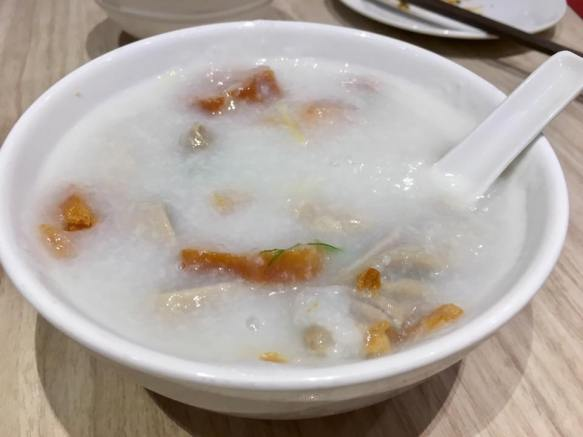 kek tai (innards) porridge 状元及第粥