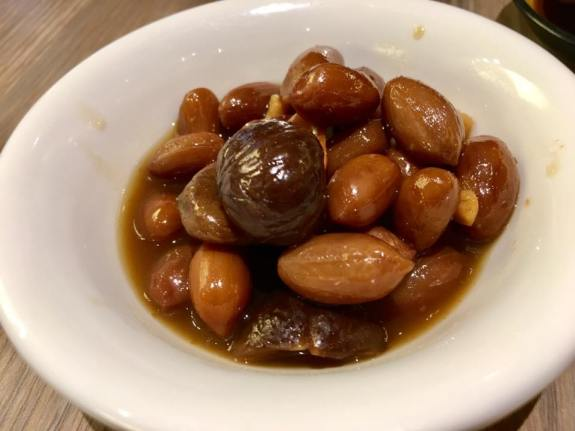 peanuts & chestnut appetizer