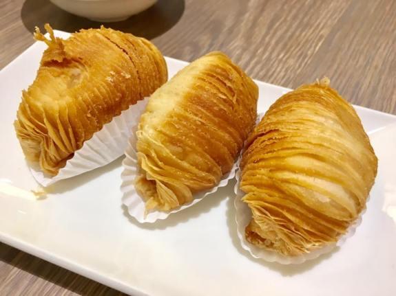 radish pastry