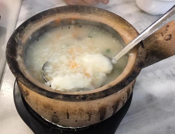 sliced fish porridge - S$13.90