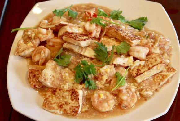 tofu prawns