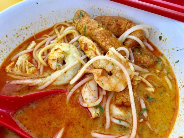 $5 weiyi laksa 唯一辣沙 @tanglin halt food centre