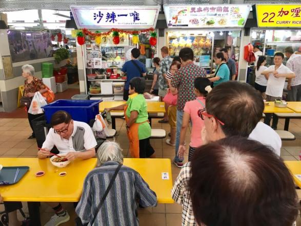 weiyi laksa 唯一辣沙 @tanglin halt food centre