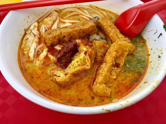 weiyi laksa 唯一辣沙 @tanglin halt food centre
