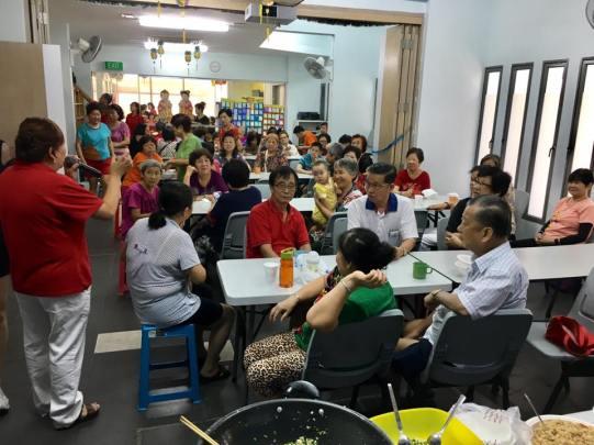 107pax for teban garden community breakfast