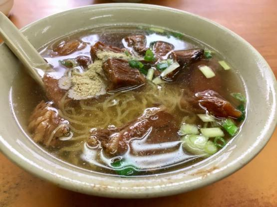 beef brisket noodles 牛腩面 HK$28