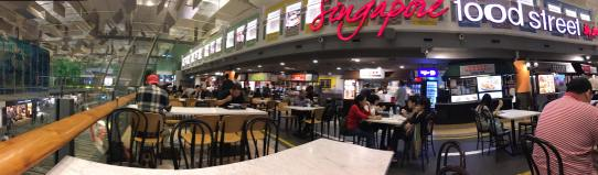changi T3 singapore food street
