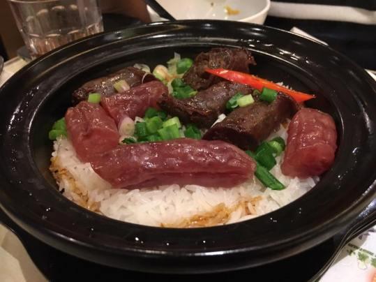腊味饭 claypot rice @ chuen mun kee 銓满记