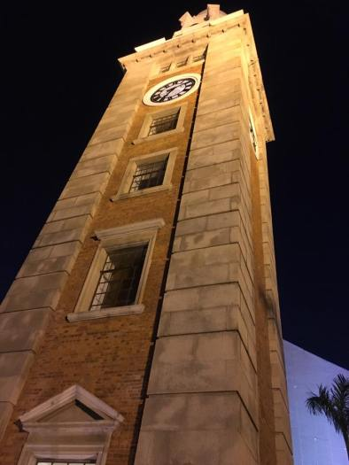 clock tower at tsimshatsui