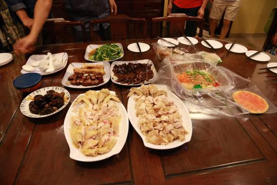 chicken rice dinner & other dishes