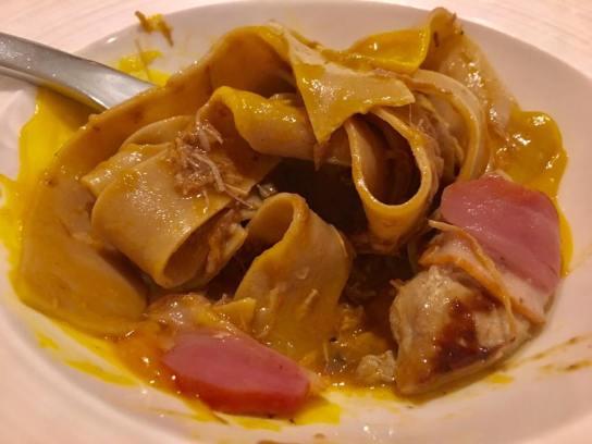 duck ragout pasta