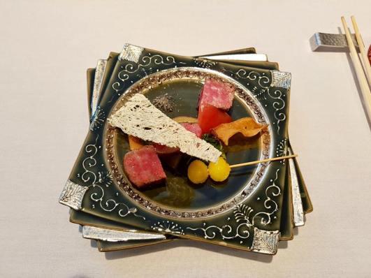 #5 grilled A5 ohmi wagyu steak