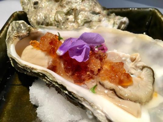 #2 oyster with ponzu jelly