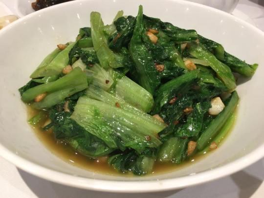 romaine lettuce 蒜蓉油麦菜 HK$68