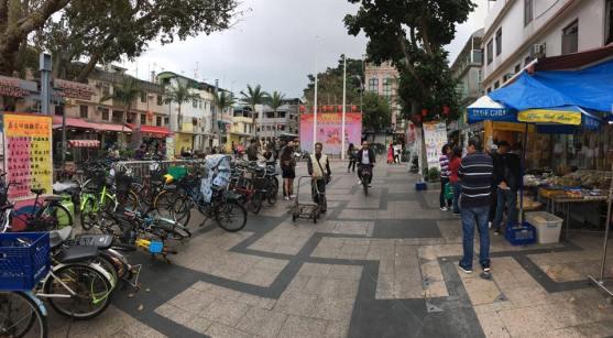 cheung chau streets & stalls