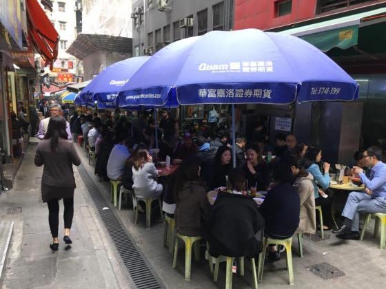 stanley street daipaidong 大排档