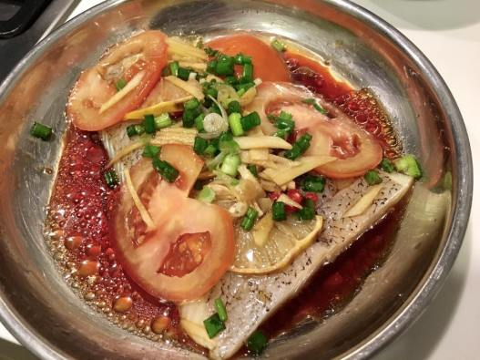 steamed turbot 蒸多宝鱼