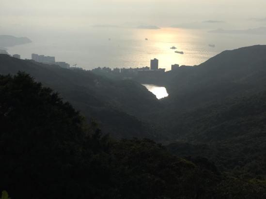 view from peak galleria
