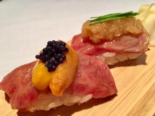 #6 ohmi wagyu sushi