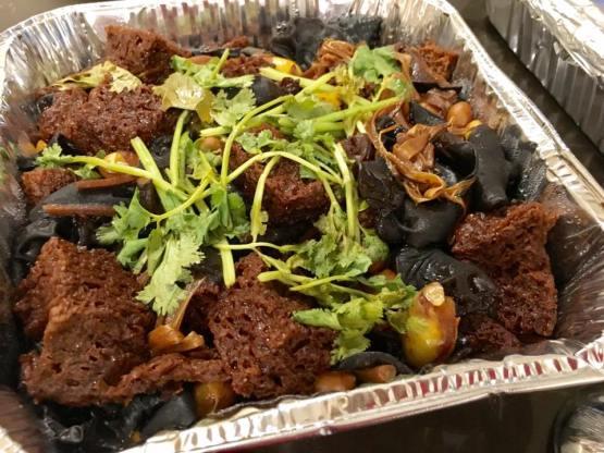 烤麸 - an excellent 面筋gluten dish i like