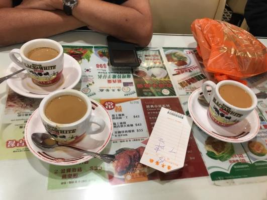 coffee @ hong lin restaurant 康年餐厅
