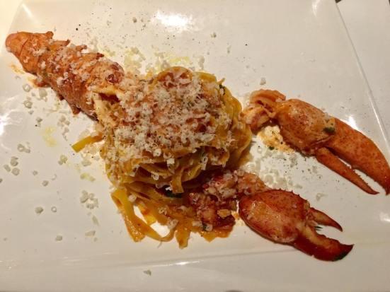whole lobster tagliolini – S$51