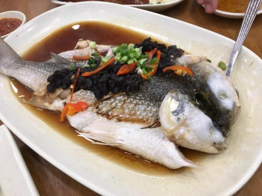steamed mullet @ ming court restaurant