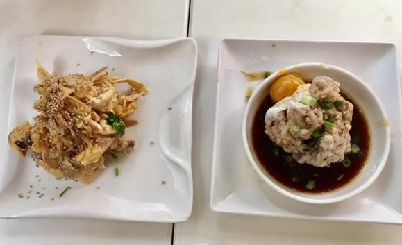 steamed minced pork @ minsheng daipaidong 民声冰室