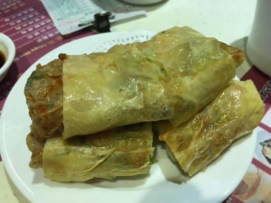 fried fupijuan 炸腐皮卷