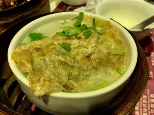 steamed fupijuan 蒸腐皮卷