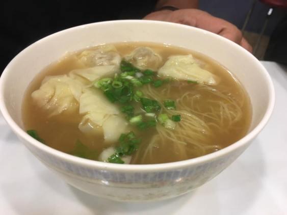 wanton noodles soup @ sai kee congee 西記粥店