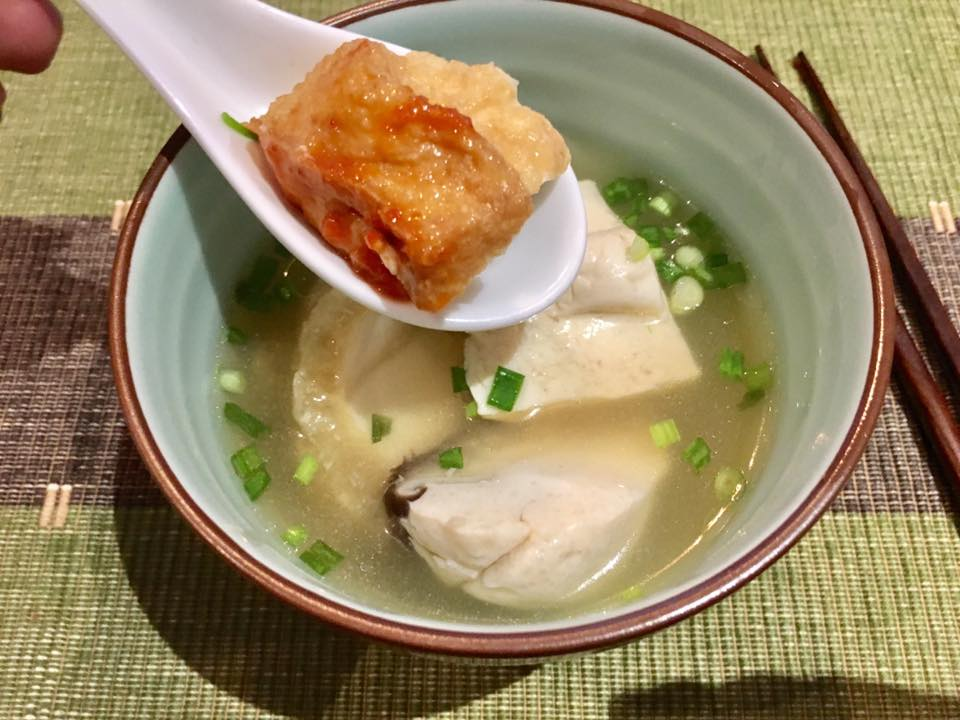Wifes Fabulous Yong Tau Foo Mined Pork Noodles On 19apr2017 Chef