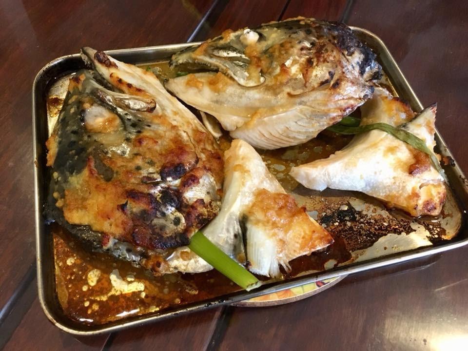 how to cook salmon head teriyaki