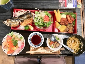 Good Value S$13.80 Saba & Chirashi Don Lunch Set @ Sabar on 26Jun2018