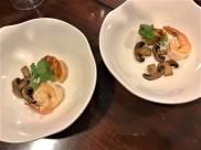 #2 dobin mushi with caramelised brown button mushrooms, scallop & prawn 👍👍