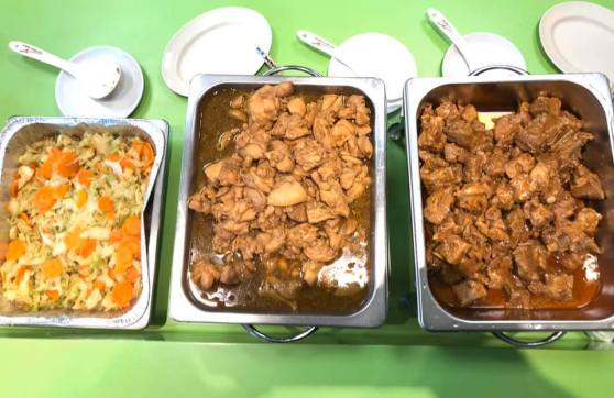 3 dishes for HCA Hopice Care 40pax lunch