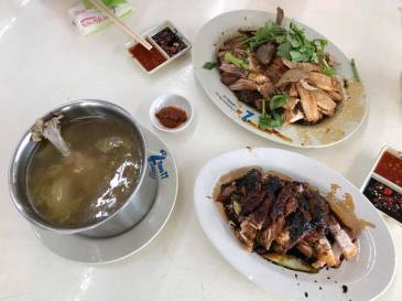 braised duck & 咸菜鸭