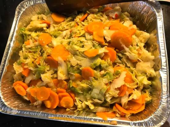 carrots & cabbage