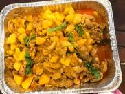 curry chicken with potatoes for teban gardens friday community breakfast