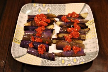 eggplant with chilli