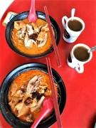 fa ji S$ chicken laksa way below par