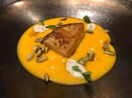 foie gras pumpkin soup