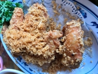 har jeon gai aka prawn paste chicken