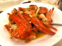 lobster in superior stock 上汤焗龙虾